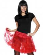 Vous aimerez aussi : Jupon transparent rouge femme