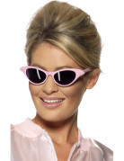 Lunettes roses adulte