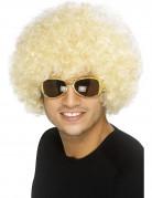 Afro-Per�cke Blond