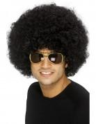 Peluca estilo afro negra