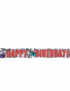 Banni�re happy birthday rock