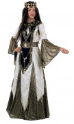 Déguisement reine des croisades médiévales femme