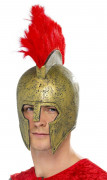 Casque gladiateur romain latex adulte