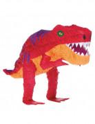 Piñata Dinosaure rouge