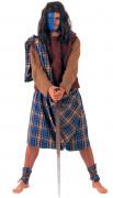 Déguisement guerrier écossais homme