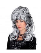 Vous aimerez aussi : Perruque blanche avec m�ches noires dame vampire femme