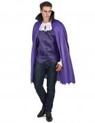 Déguisement vampire violet homme