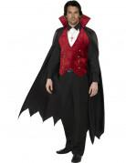 Déguisement vampire avec cape homme Halloween
