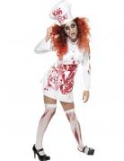 Déguisement zombie cuisinière femme Halloween