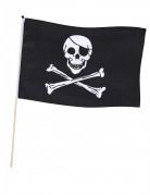 Drapeau pirate avec tige