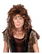 Perruque homme préhistorique adulte