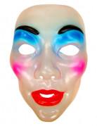 Masque visage femme maquillée