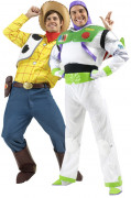 Toy story Woody and Buzz costumes for couple