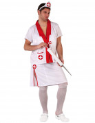 Funny nurse costume for men