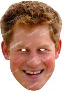 Masque carton Prince Harry