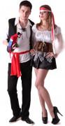 Déguisement couple pirate adultes