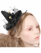 Mini chapeau de sorci�re adulte Halloween