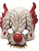 Masque clown terrifant adulte