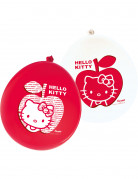 12 ballons Hello Kitty Apple�