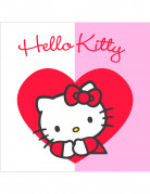 20 serviettes papier Hello Kitty Sweet Heart�