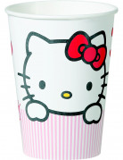 10 gobelets Hello Kitty Sweet Heart�