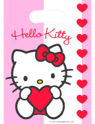 6 sacs de f�te Hello Kitty Sweet Heart�