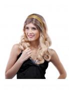 Perruque longue blonde ondul�e femme
