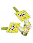 6 Luftr�ssel SpongeBob Schwammkopf�
