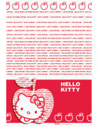Nappe Hello Kitty Apple�