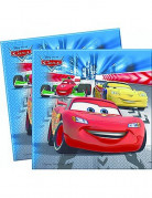 20 serviettes papier Cars Racers�