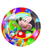 10 assiettes Mickey Party Time�