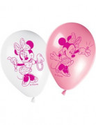 8 ballons Minnie�