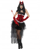 Déguisement démon sexy femme Halloween
