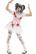 Déguisement poupée ensanglantée femme Halloween