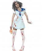 Déguisement zombie marin femme