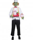 Déguisement vendeur pop corn zombie adulte