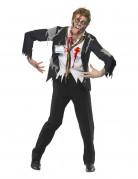 Disfraz de oficinista zombie Halloween