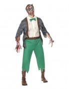 D�guisement zombie geek homme Halloween