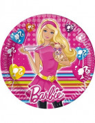 10 assiettes Barbie Cute Pets�