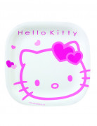 Assiette m�lamine Hello Kitty�