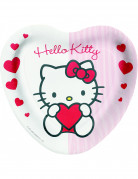 8 assiettes Hello Kitty Sweet Heart�