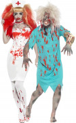 D�guisement couple infirmiere et son patient Halloween