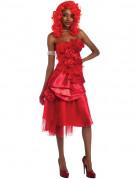 Déguisement Rihanna™ femme rouge