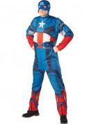 D�guisement Captain America� adulte avec cagoule