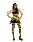 Sexy Bienen-Kost�m f�r Damen