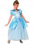 D�guisement princesse de contes de f�es bleue enfant