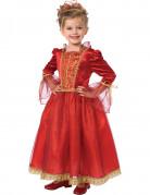 D�guisement princesse rouge enfant pour fille