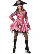 D�guisement pirate femme rose