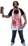 Tablier ensanglant� boucher adulte Halloween