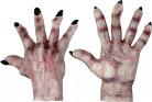 Gants monstre peau claire adulte Halloween